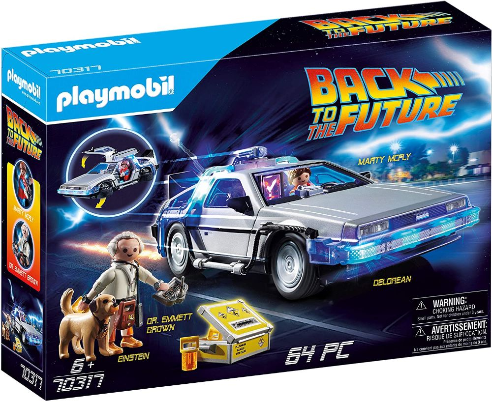 Playmobil 70317 Back to the Future© DeLorean Toy